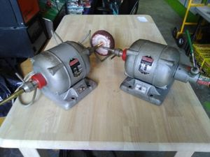 2 Red Wing Ball Bearing AC Motor Lathe *Tested! Works!* for Sale in Plymouth, MA