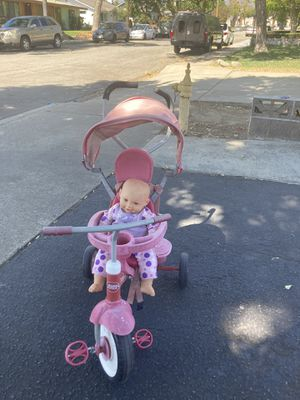 4 in 1 radio flyer / Doll not included for Sale in Upland, CA