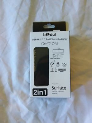 USB 3.0 & Ethernet 2-in-1 adapter designed for Microsoft Surface for Sale in Fremont, CA
