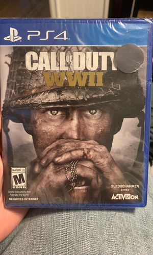 PS4 COD WWII 25$ (OBO) for Sale in Bismarck, ND