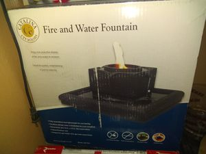 Fire and water fountain for Sale in Colorado Springs, CO