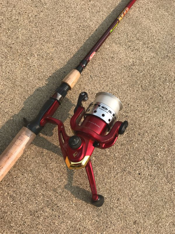 Cherry wood HD fishing rod