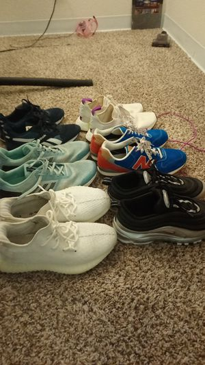 Lot of shoes size 8.5 to 12 for Sale in Denver, CO