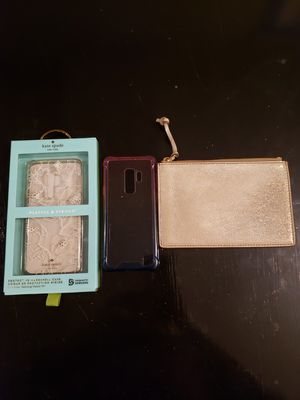 Kate Spade Galaxy S9+ & Fossil RFID pouch for Sale in HOFFMAN EST, IL