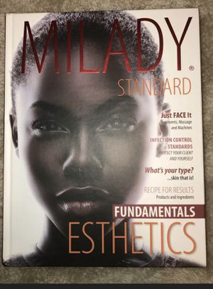 MILADY ESTHETICS - HARDCOVER BOOK for Sale in San Leandro, CA
