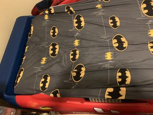 Twin race car bed with mattress for Sale in West Palm Beach, FL