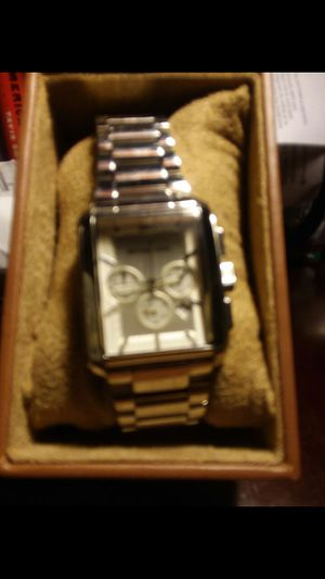 Silver square face Michael Kors watch for Sale in Fort Washington, MD