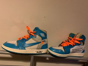 Off white unc size 7 for Sale in Reston, VA