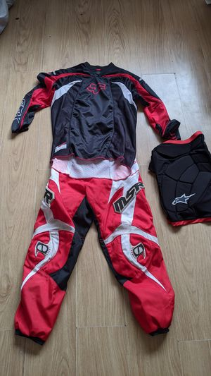 Motorcycle Motocross gear. Pants. Shirt. Gloves. for Sale in Chula Vista, CA