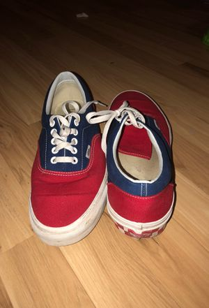 Red white and blue vans for Sale in Buffalo, MN