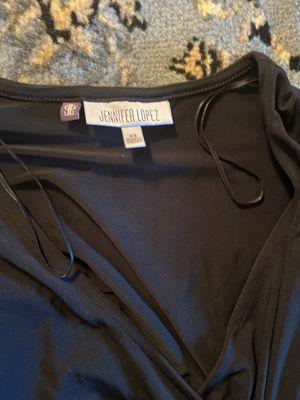 JLO mini black wrap dress xs for Sale in Pomona, CA