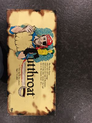 Cutthroat Pirate Board Game for Sale in Huntingdon Valley, PA