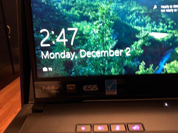 """ASUS - ROG GU502GV 15.6"""" Gaming Laptop - Intel Core i7 - 16GB Memory - NVIDIA GeForce RTX 2060 - 1TB SSD + Optane - Brushed Metallic Black"""