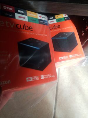 Fire tv cube 4k refurbished for Sale in Fresno, CA