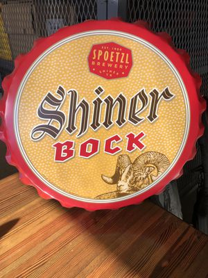 Shiner Bock Beer Cap Wall Hanging for Sale in Payson, AZ