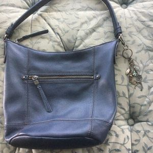 """ The Sak "" Blue Leather Pocketbook for Sale in New Bedford, MA"