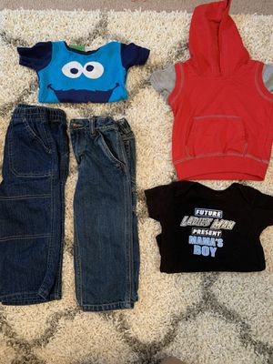 24 month boy clothes for Sale in Davenport, IA