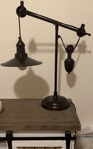 Ashley Brand Industrial Style Lamp for Sale in Hesperia, CA