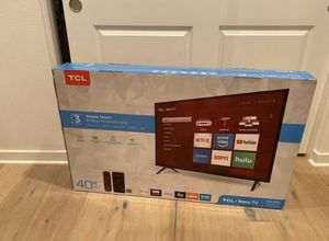 "40"" TCL SMART TV FULL HD 1080P Roku TV never opened for Sale in Mission Viejo, CA"