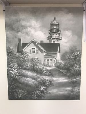 Painted lighthouse pic FCFS for Sale in South Jordan, UT