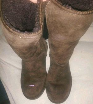 Womens UGGS-Tall Boots-Chestnut Size 9 for Sale in Pittsburgh, PA