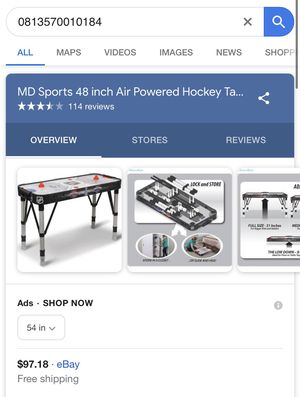 Adjustable air hockey table for Sale in Los Angeles, CA
