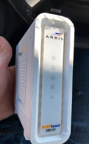 Arris modem router for WiFi for Sale in Humble, TX