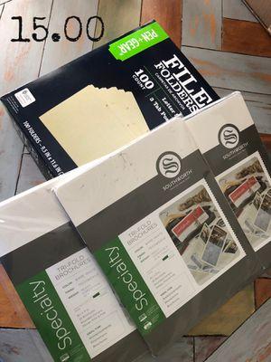 Filing folders / brochure for Sale in San Antonio, TX