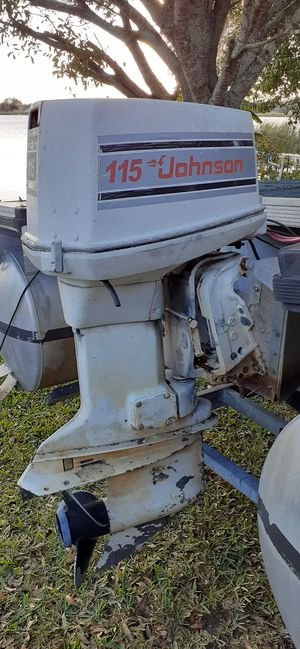 Johnson 115 parts motor for Sale in Winter Haven, FL