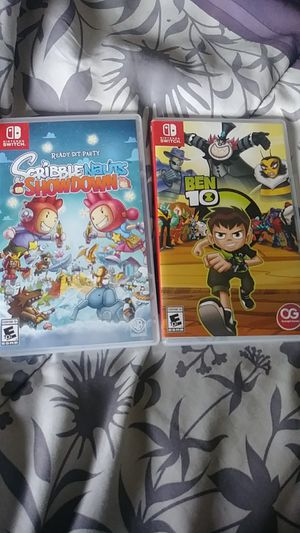 Nintendo Switch games for Sale in Arlington, TX