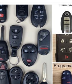 Controles para carros smart keys fobs remotes alarm Oem programacion incluida Chevy Cadillac GMC Toyota Honda dodge jeep Chrysler Ford Lincoln Nissan for Sale in Los Angeles,  CA