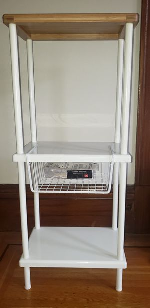 3 shelf unit for bathroom or bedroom storage for Sale in San Francisco, CA
