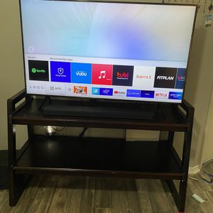 "TV Stand Holds 55"" for Sale in Irving, TX"