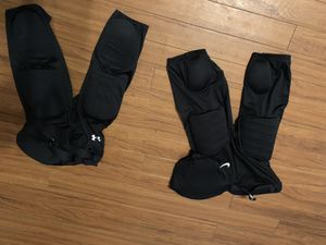 Under Armour & Nike football padded pants kids youth size L - Large for Sale in Plano, TX