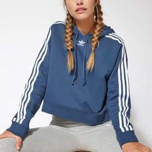 New Adidas Cropped Hoodie Size Xl for Sale in Montebello, CA