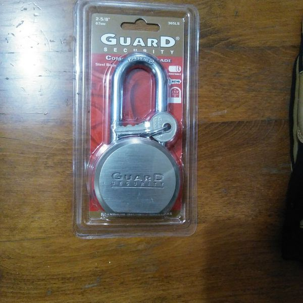 LOCK (GUARD SECURITY)