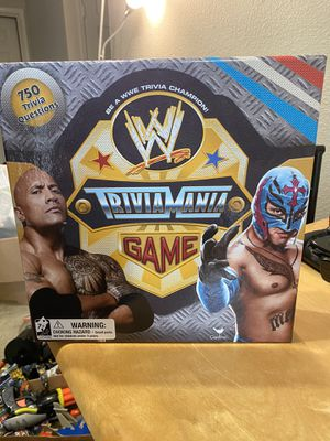 WWE TriviaMania Board Game for Sale in Hillsboro, OR