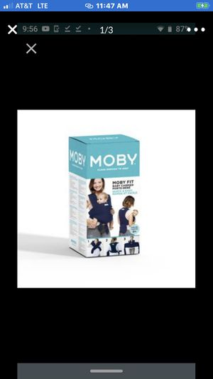 Moby Wrap Moby Fit - Midnight MOBY FIT BRAND NEW!! BEST PRICE!! AND LOCAL PICKUP!!, NO LINES! AND NO TAX!! for Sale in Long Beach, CA