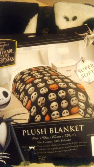 Nightmare before Christmas blanket for Sale in Montebello, CA