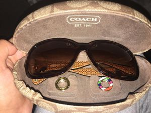 Coach ella s815 tortoise sunglasses for Sale in Phoenix, AZ