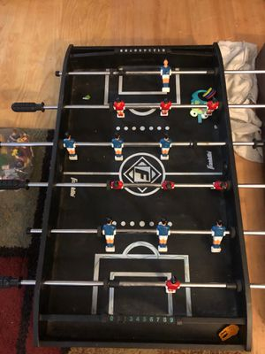 Universal foos ball table Air hockey Chinese checkers And ping-pong for Sale in Oceanside, CA