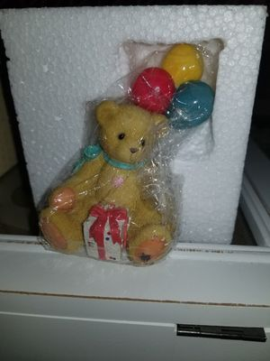"""Nina"" - 1996 Enesco Cherished Teddies ""Beary Happy Wishes"" Event figurine. for Sale in Louisville, KY"