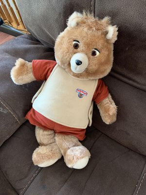 Teddy Ruxpin first talking toy for Sale in Centreville, VA