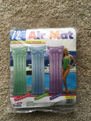 Swimming air mat for Sale in Pepper Pike, OH