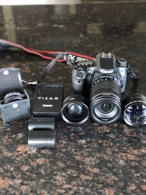 Canon EOS 70 D WiFi camera bundle for Sale in Honolulu, HI