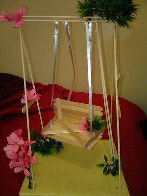 Handmade doll swing set 🌺 for Sale in San Marino, CA