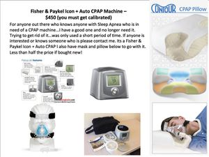Fisher & Paykel ICON + Auto CPAP Machine for Sale in Plantation, FL