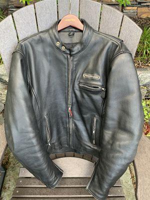 Field sheer Motorcycle Jacket with Armor - Men's sz 44 for Sale in Seattle, WA