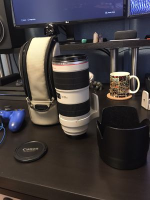 Canon 70-200mm 2.8 L IS II USM for Sale in Orlando, FL