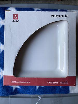 Free Ceramic corner shelf for Sale in Chicago, IL